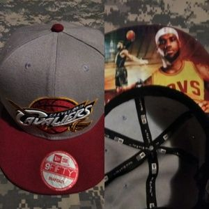 New Era Cleveland Cavs King James adult cap